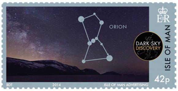 New Isle of Man stamp via Isle of Man Post Office.