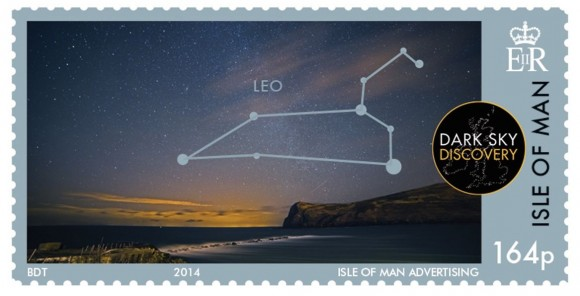 New Isle of Man stamp via Isle of Man Post Office.