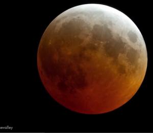 red moon tonight east coast - photo #2