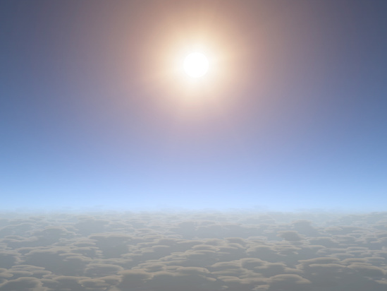 Because no clouds blocked the view, scientists were able to observe water vapor on a Neptune-sized planet for the first time. The smaller the planet, the more difficult it is to observe its atmosphere, and other small planets have been obscured by clouds. The upper atmosphere of HAT-P-11b appears nearly cloud-free, as shown in this artist's depiction.  Image via NASA/JPL/Caltech