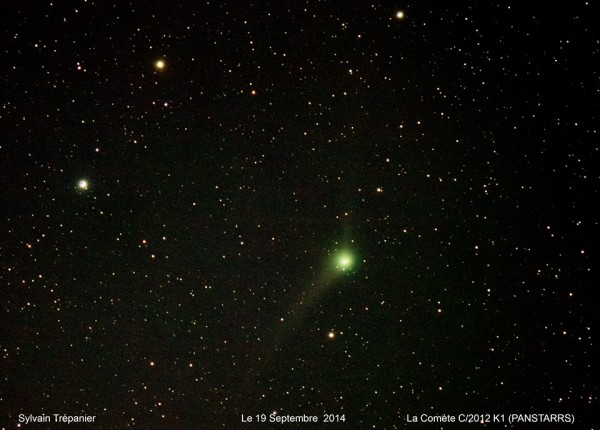 C/2012 K1 (PANSTARRS) as captured on September 19, 2014 by Sylvain Trépanier?.