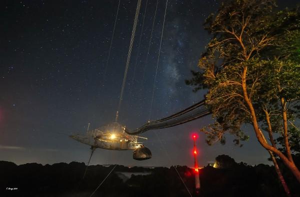 Milky Way over Arecibo, by Ferdinand Arroyo.
