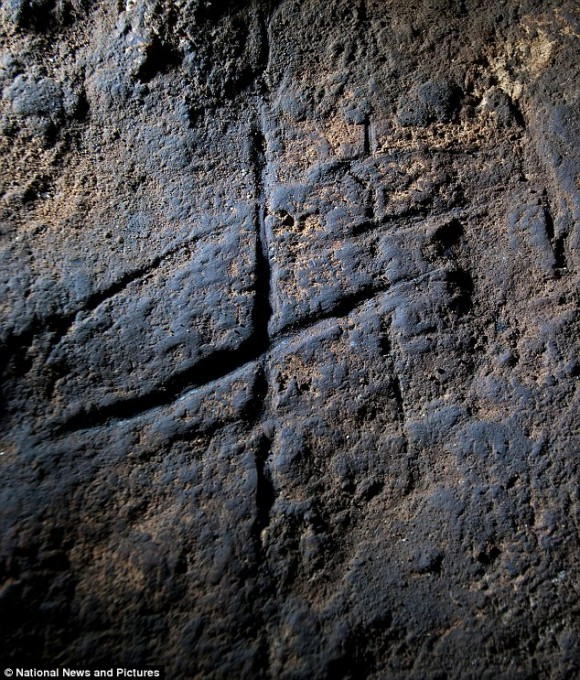 These lines scratched into a cave might be proof that Neanderthals had more intellectual capacity than previously thought.   Some experts claim they're the first known examples of Neanderthal rock art.