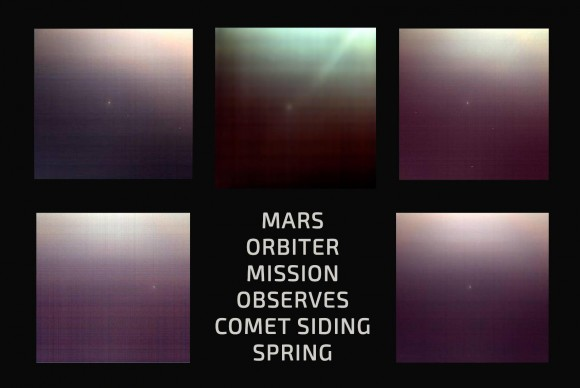 From the Indian Mangalyaan Mars Orbiter Mission Mars Color Camera. Via ISRO Mangalyaan Mars Orbiter Mission (MOM) spacecraft.