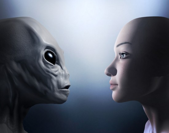 Will we someday meet beings from another world?  Image via Shutterstock