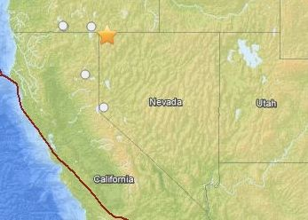 Nevada earthquake of November 4, 2014 took place in a sparsely populated region of the U.S.  No reports of damages or injuries.