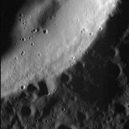 One of the highest resolution images of Mercury, ever