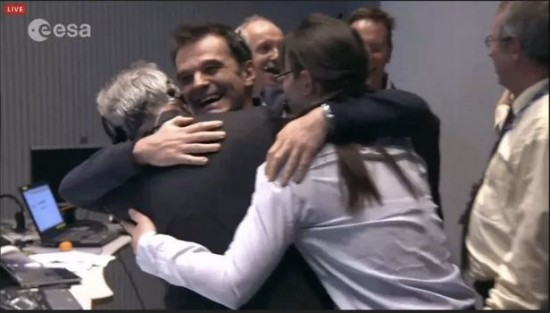 More joy from ESA scientists.  Way to go!