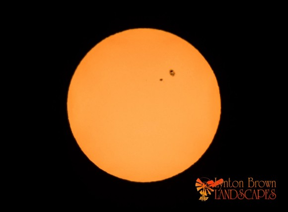 View larger. | AR2209 as seen in Horsham, Australia by EarthSky Facebook friend Lynton Brown.  More from Lynton Brown