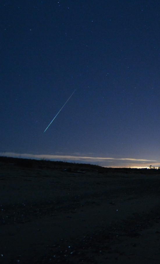 James Younger captured this Geminid meteor on December 13 over Victoria, Vancouver Island, British Columbia, Canada.