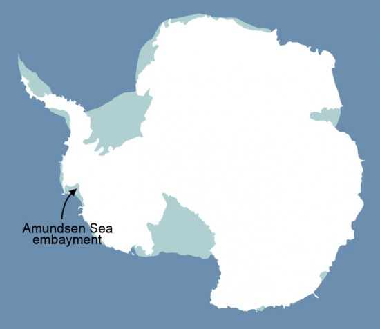 Researchers have found that glaciers in the Amundsen Sea Embayment in West Antarctica are hemorrhaging ice faster than any other part of Antarctica and are the most significant Antarctic contributors to sea level rise.