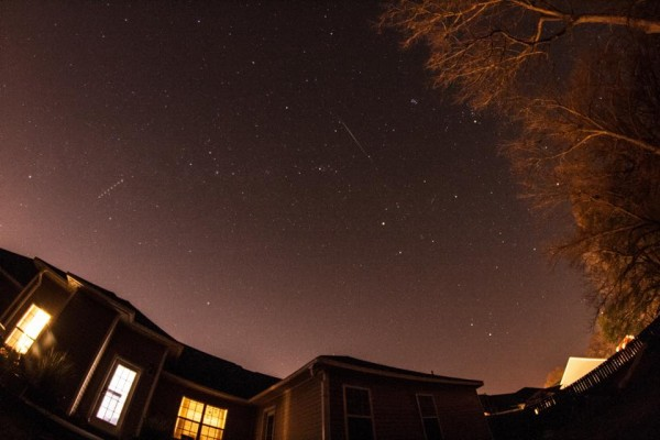 Greg Hogan captured this Geminid over Kathleen, Georgia.