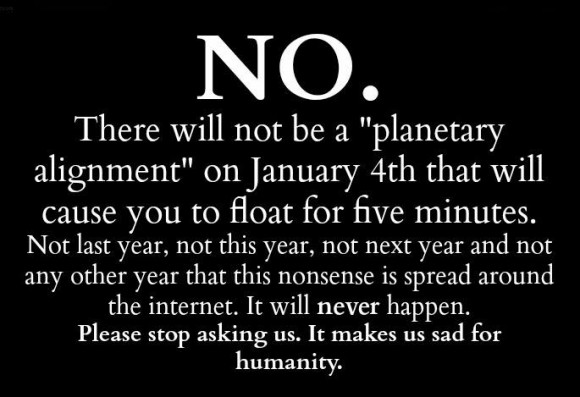 We at EarthSky first heard this rumor via iflscience a few days before Christmas, 2014.  Sigh.