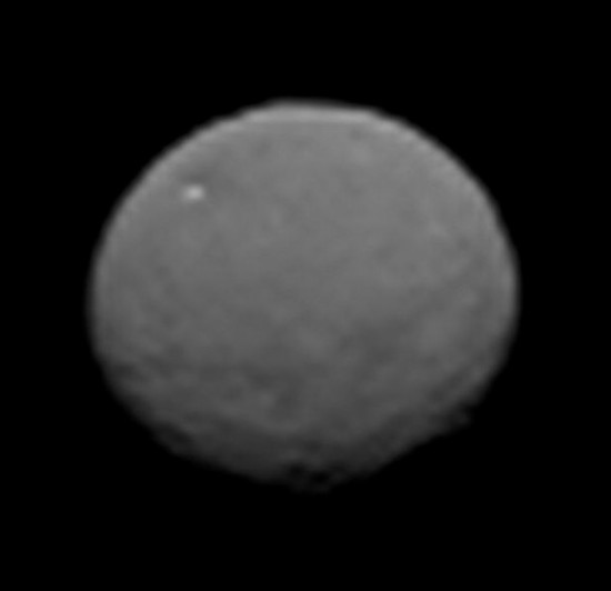 Best image so far of Ceres, taken by Dawn on January 25, 2015.