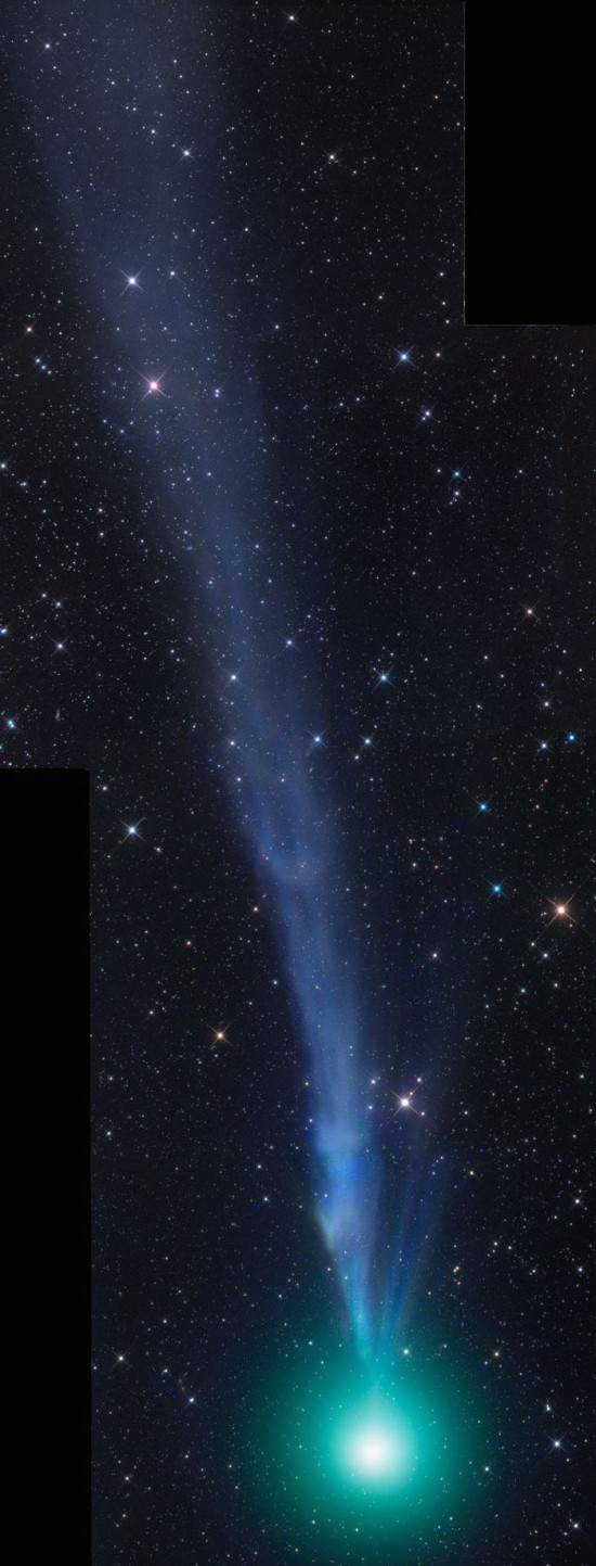Comet Lovejoy on December 23, 2014.  Photo by Gerald Rhemann.  Used with permission.