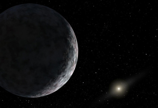 At least two unknown planets could exist in our solar system beyond Pluto. Image cedit: NASA/JPL-Caltech