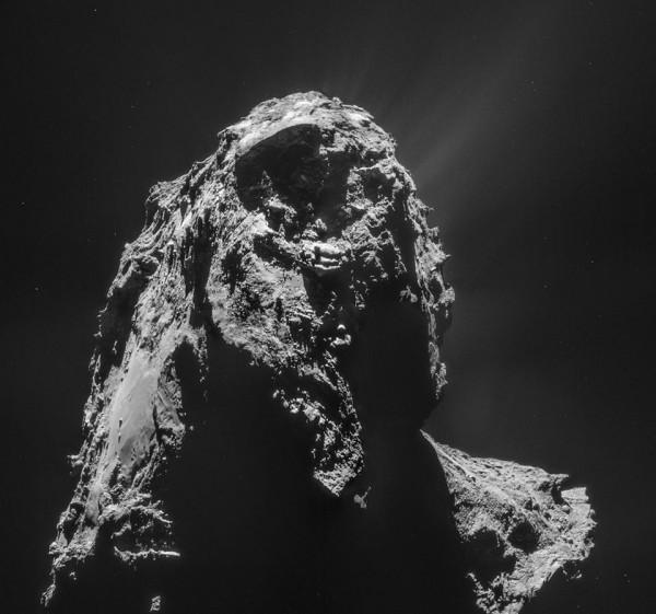 Via ESA NAVCAM Rosetta.