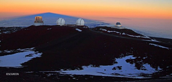 View larger. | Shadow of Mauna Kea in Hawaii, via Imaginescape Photography.  Visit Imaginescape Photography on Facebook.