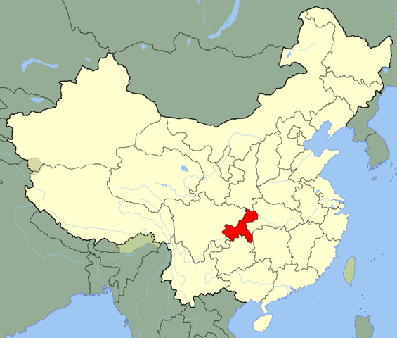 Qijiang is one of the districts in Chongqing where dinosaurs' tracks and fossils have been found. Map via Archaeologynewsnetwork