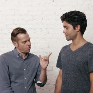 Josh Zeman and Adrian Grenier