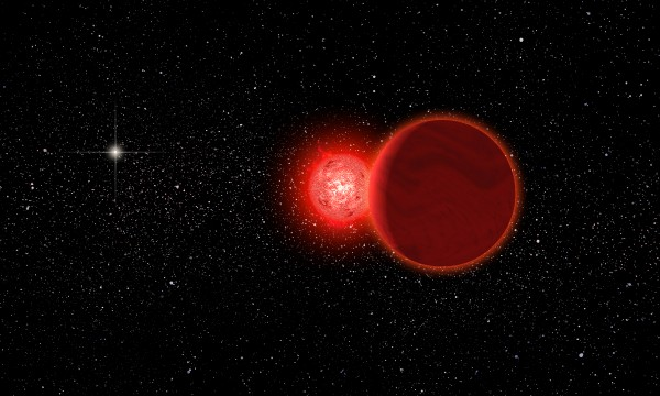 Artist's depiction of Scholz's star via University of Rochester