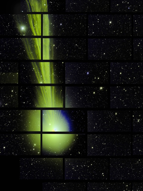 Comet Lovejoy on December 27, 2015 from the Fermi Dark Energy Camera