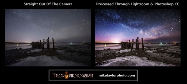 Meteor at Sandy Point, Maine by Mike Taylor Photo
