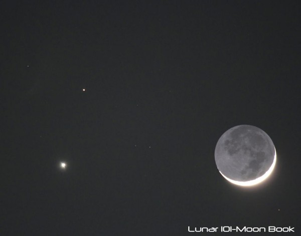 Submitted on EarthSky Facebook by Steven A. Sweet / Lunar101 - MoonBook.
