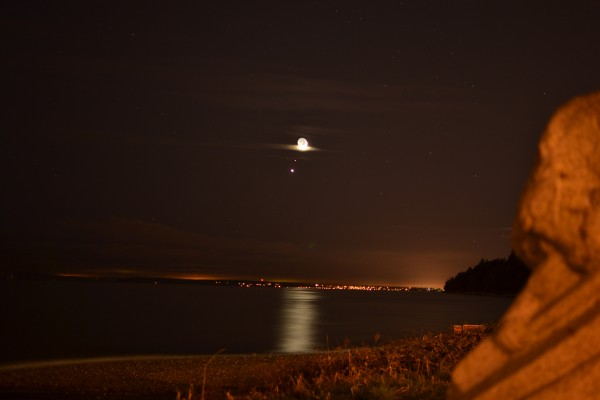 Thom Luxford submited this photo to EarthSky from White Rock, British Columbia.