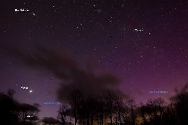 Could you see the aurora from the U.S. on the evening of March 17?  A glimpse, at best.  EdmondK Photography? wrote: