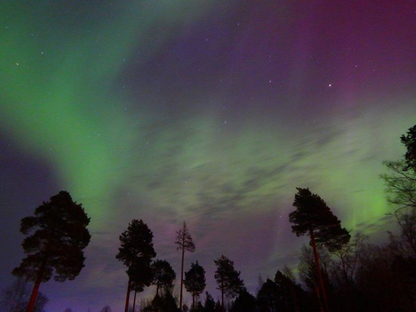 Jörgen Norrland Andersson caught this shot from Sweden on the evening of March 17.