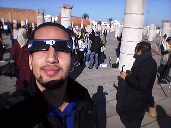 Eclipse-watching in Morocco by Ayoub El Kheir