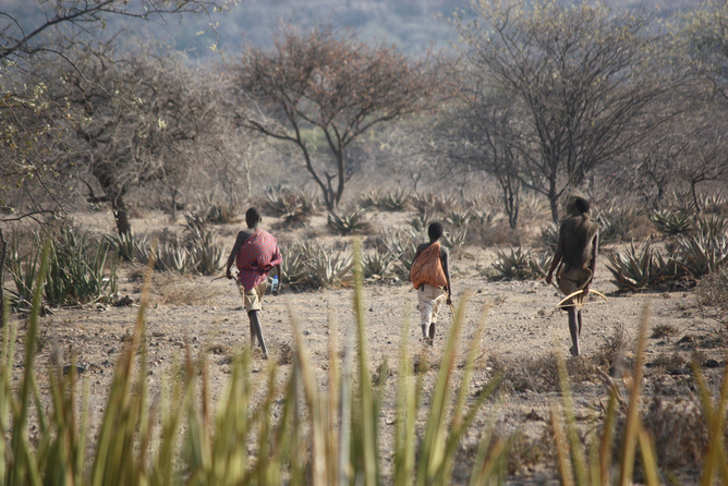 Very few people today live a true hunter-gatherer lifestyle – and Paleo diets likely oversimplify what would have been on the table many millennia ago. Photo credit: Thiery, CC BY-NC