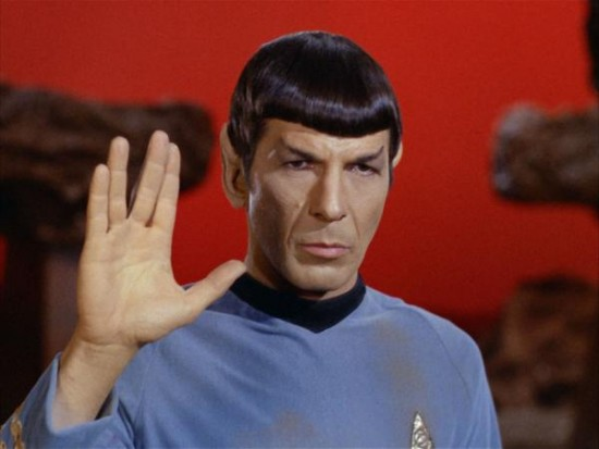 A place to call home? The late Leonard Nimoy played the beloved Vulcan Mr. Spock in the Star Trek franchise