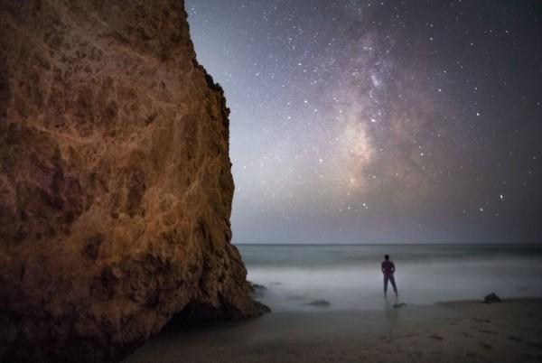 View larger.   Shreenivasan Manievannan calls this photo Malibu Stargazer.