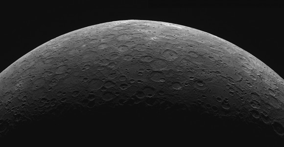 A limb mosaic of the planet Mercury as seen from MESSENGER's Wide Angle Camera & Dual Imaging System. Credit: NASA/Johns Hopkins University/Applied Physics Laboratory/Carnegie Institution of Washington Read more at: https://phys.org/news/2013-03-mercury-greatest-elongation.html#jCp