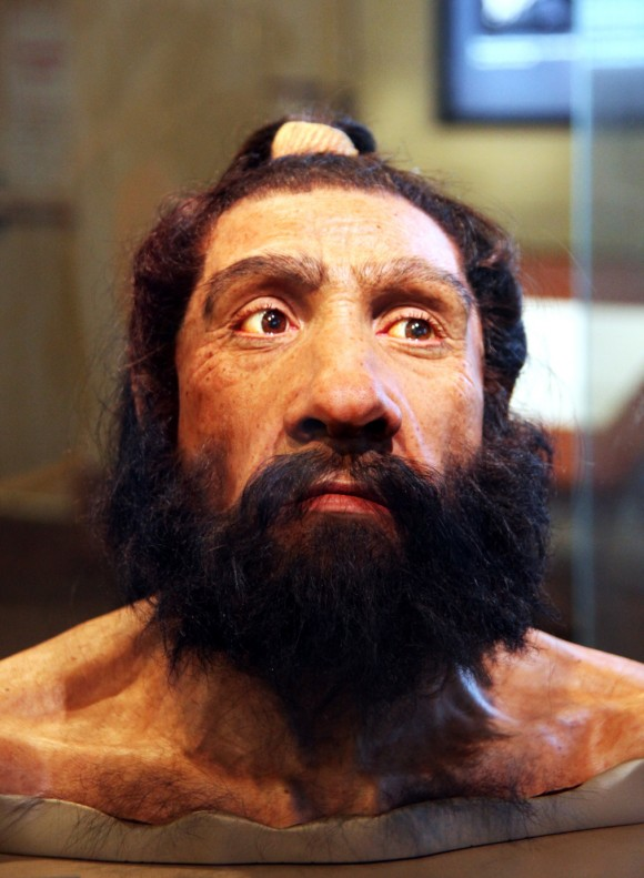 Don't underestimate the flexibility of early hominids such as this Neandertal. Image credit: Tim Evanson, CC BY-SA