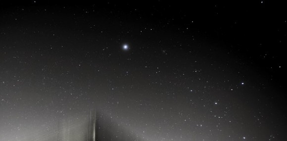 The star Sirius.  Photo by EarthSky friend on G+ Martin Marthadinata.
