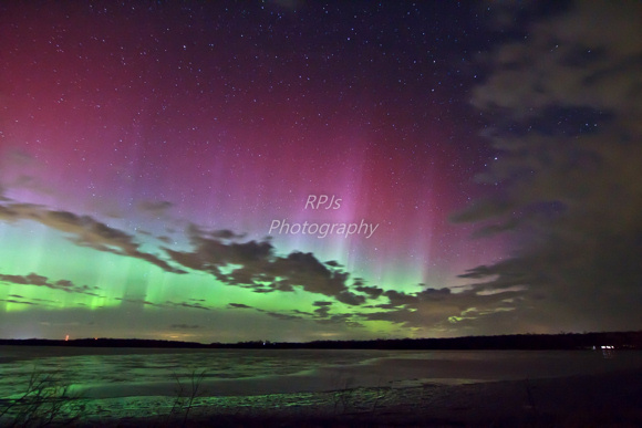 Aurora as seen near Fergus Falls , Minnesota, courtesy of RPJ's Photography. Thank you Ron Junior!