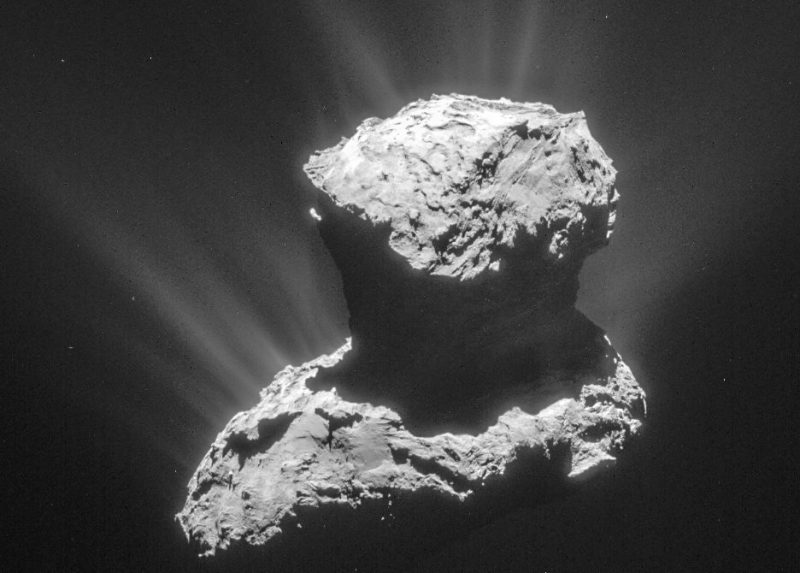 Does organic material in comets predate our solar system?