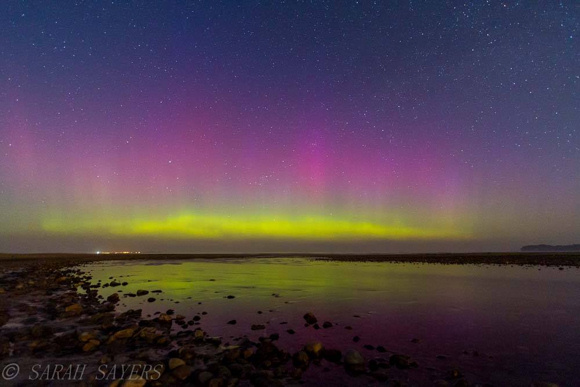 This shot was taken in Ireland, around midnight April 9-10, by our EarthSky friend Sarah Sayers.