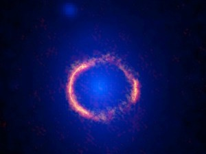 This image shows an Einstein Ring | EarthSky.org