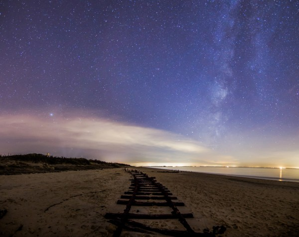 Chris Bakley captured this image at Cape May, New Jersey.  Thank you, Chris.