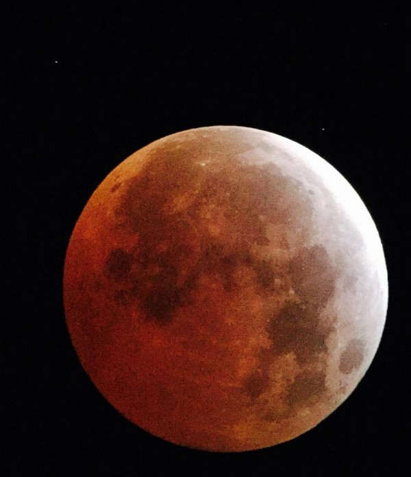 Wow!  Great shot of the April 4, 2015 eclipse from Andrew Walters in South Australia.  Thanks for posting to EarthSky Facebook, Andrew!