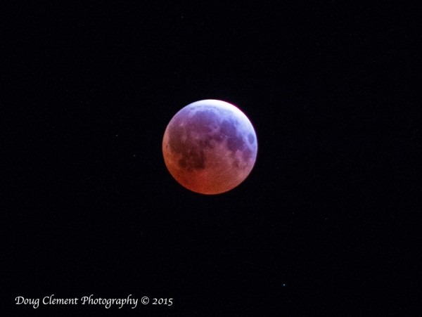 Doug Clement Photography caught the eclipse from Victoria, British Columbia, Canada.