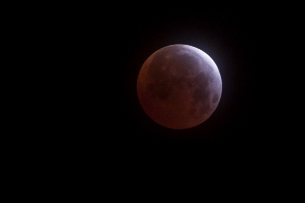 Eclipse on April 4 from Hector Barrios in Hermosillo, Mexico.