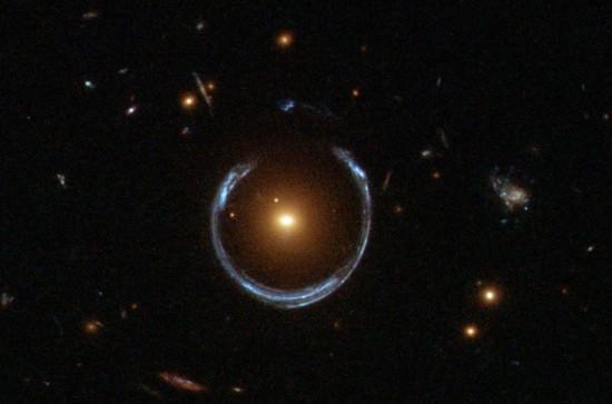 Here's another Einstein Ring.