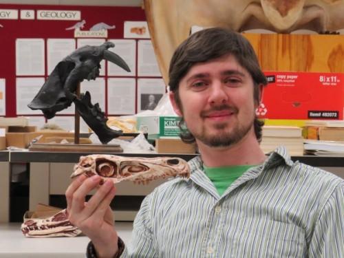 Steven E. Jasinski found and named the new dinosaur.