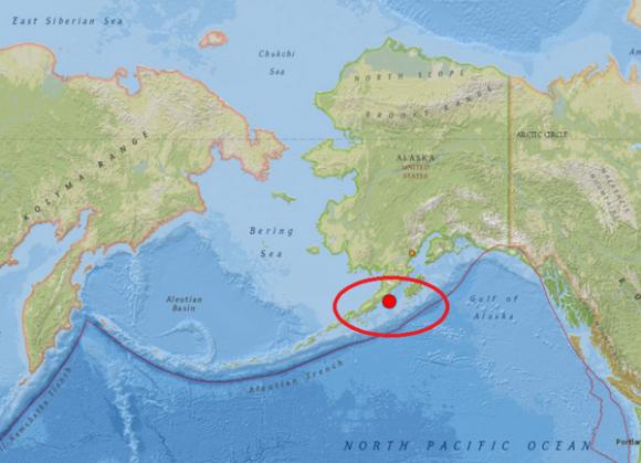 May 29, 2015 Alaska earthquake via @RT_com on Twitter.