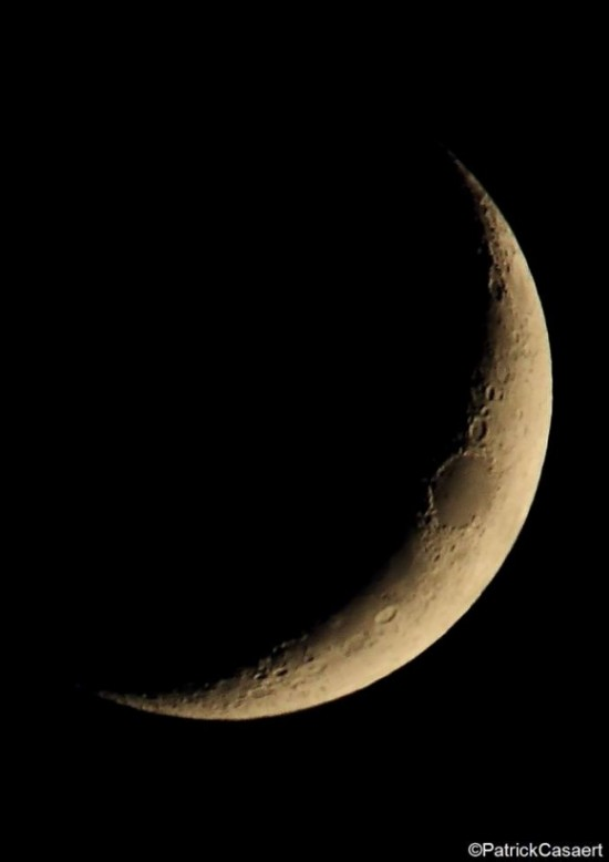 Here is a close-up of the May 21 moon, from our friend La Lune The Moon on Facebook.